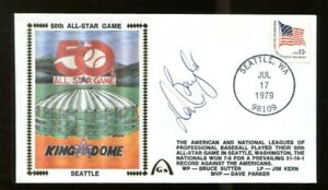Don-Baylor-Signed-FDC-First-Day-Cover-Autographed-1979-All-Star-Game-56237