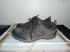 Rugged Exposure Mens Hiking Boots Shoes Size 7.5 Brown Leather FREE  SHIPPING!