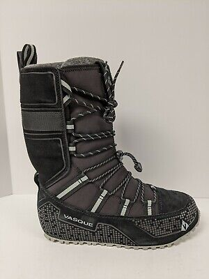 Vasque 7843 Lost 40 Black Winter Snow Boot Womens Size 7.5
