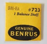 Benrus Balance Staff Model Bm Ea Watch Part 723