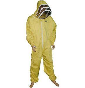 M Best Quality 100 /% Cotton beekeeping beekeeper bee jacket fencing veil