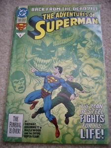 ADVENTURES-OF-SUPERMAN-500-JUNE-1993-DC-COMICS-BACK-FROM-THE-DEAD