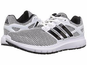the best attitude 8745a c63f7 Image is loading adidas-ENERGY-CLOUD-Mens-White-Black-CG3007-Lace-