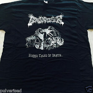 GALVANIZER-Horrid-Tales-Of-Death-T-SHIRT-SIZE-LARGE