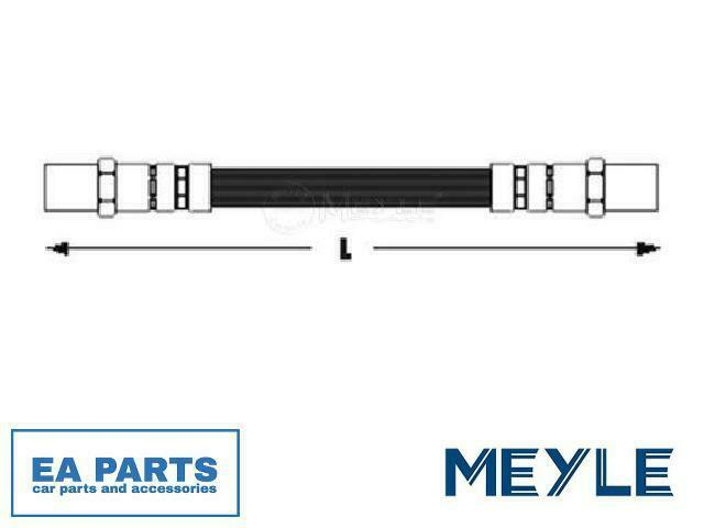 Brake Hose for VW MEYLE 100 611 0023 fits Front Axle