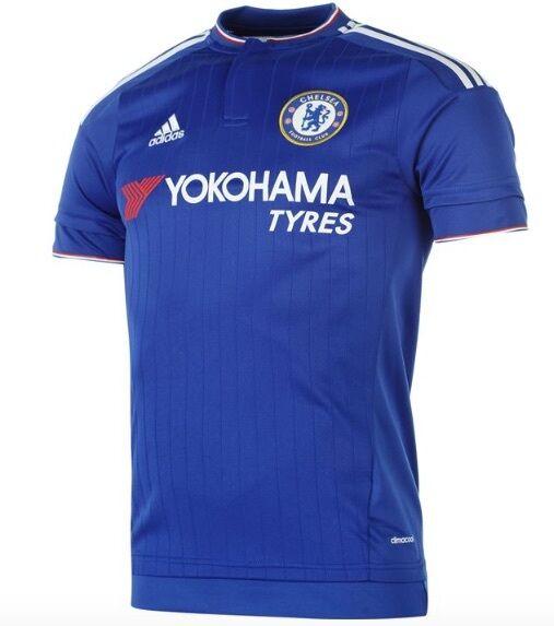 Adidas FC Chelsea Londres Camiseta Local 2015 2016 Yokohama Tyres Todas Tallas