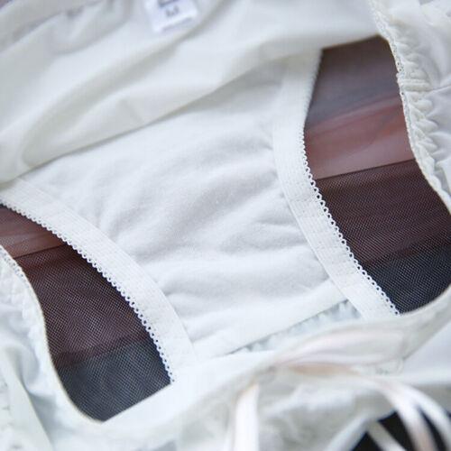 Sweet Japanese Lolita Mori Girls Underwear Briefs Underpants Low Waist Panties
