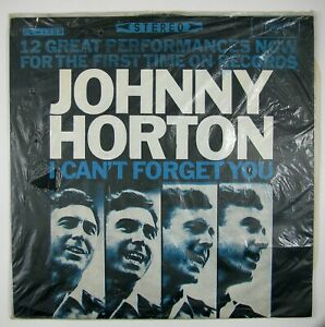JOHNNY-HORTON-I-Can-039-t-Forget-You-LP-1965-COUNTRY-VG-VG-NM