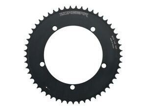 New Zoagear Single Speed Chainring 144 BCD 46 Teeth Fixed Gear Bike Black