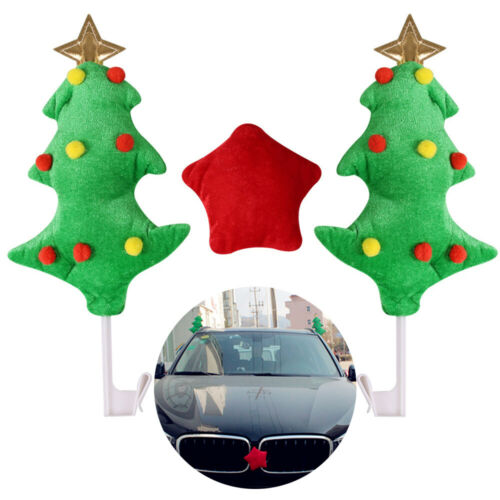 Christmas Tree Car Decorations Kit Accessories Green For Car Trucks Xmas Party