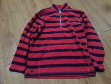 Hanna Andersson 1//4 Zip Blue Green Fleece Pirate Skulls Boys Pullover Jacket