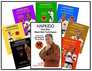 BLACK BELT HAPKIDO SELF DEFENSE DVD SYSTEM GRAND MASTER HO ...