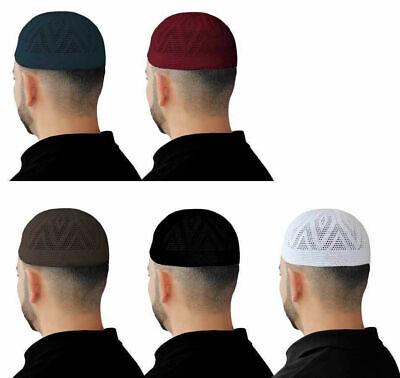 Mens Muslim Hat Men/'s eIslamic Kufis Prayer Cap,Kufi Kufis