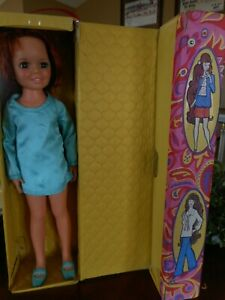 Vintage Chrissy Doll 1960's 70's w Box Red Hair Ideal Toy