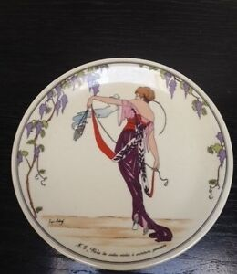 Villeroy Boch Design 1900 Salad Plate N6 Purple Robe Ebay