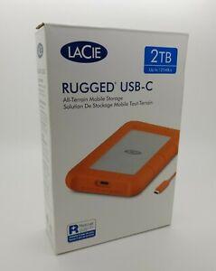 LaCie-2TB-Robusto-USB-C-Thunderbolt-3-compatibilita-Drop-Shock-amp-Crush-resistente