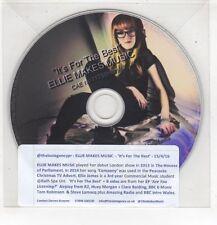 (HF629) Ellie Makes Music, It's For The Best - 2016 DJ CD