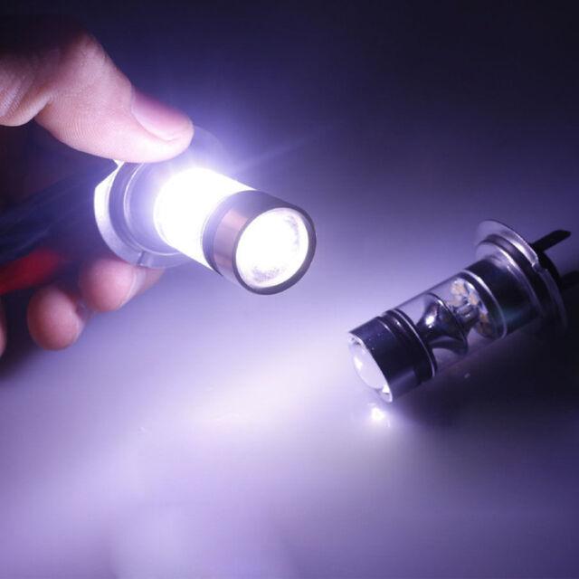 2x 100W H7 20SMD LED Cree Xénon Ampoule Feux Lampe Voiture Blanc DRL 6000K jI