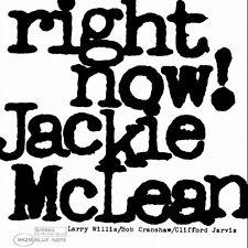 Jackie McLean - Right Now [New Vinyl] Gatefold LP Jacket, 180 Gram
