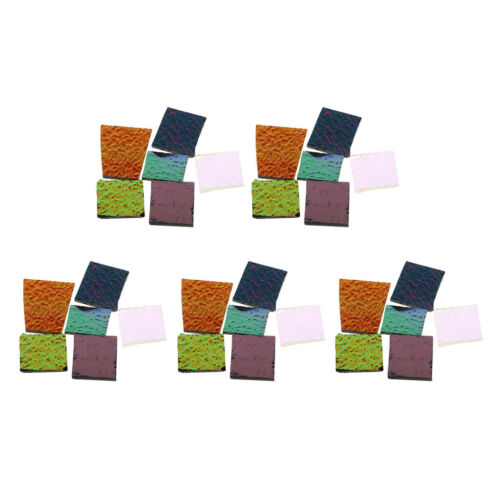 5 Oz Assorted Dichroic Glass Scraps Fusing Glass Fusible Glass Supply COE90