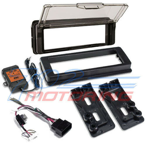 FOR 98-2013 HARLEY KENWOOD MARINE KMR-M322BT RADIO SPEAKER KIT TOURING INSTALL