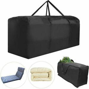 Schutzhülle für Gartenmöbelauflagen Gartenmöbel Tasche Sitz Kissen Schutzhülle