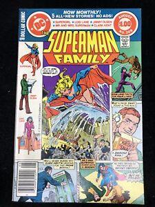 SUPERMAN-FAMILY-209-DC-1981-SUPERGIRL-LOIS-JIMMY-8-5-VF