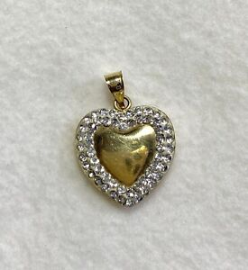 Yellow-Gold-Heart-Pendant-10K
