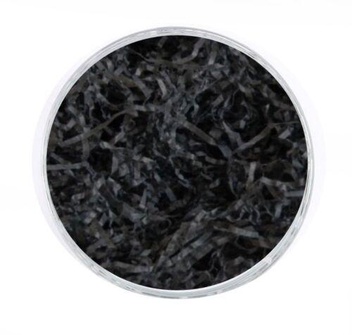 20 grammes de noir panier shred cadeau box packaging-soft déchiqueté papier tissu