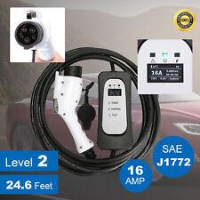 Evseelectric Vehicle Charger Ev Level 2 220v 16a For Leaf Volt Prius