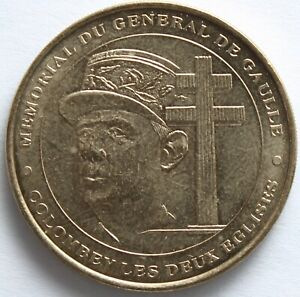 JETON-MDP-MEMORIAL-DU-GENERAL-DE-GAULLE-2000