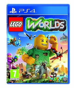 LEGO-MONDI-PS4-Kids-Gioco-Per-Sony-PlayStation-4-amp-Nuovo-Di-Zecca-Sigillato-World-UK