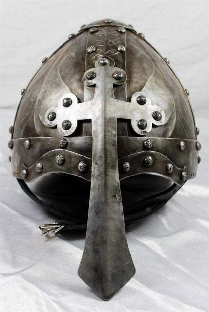 Viking/Norman Helmet w/Nasal Cross -- Hand-Forged -- sca/larp/steel/helm/armor !
