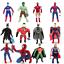 The Avengers Plush Toys Action Figures Thor Hulk Soft Dolls Kids Captain America