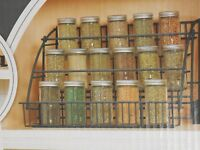 Rubbermaid Fg802009 Pull Down Spice Rack , New, Free Shipping on sale
