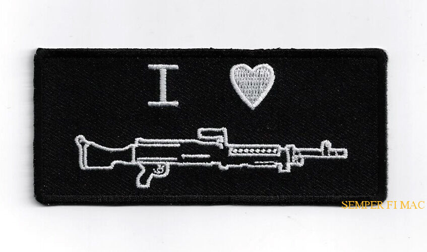 M60 Machine Gunner HAT VEST Patch Pig US ARMY NAVY AIR FORCE  PIN UP 7.62 mm WOW