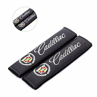 2PCS HI-Q Leather Car Seat Belt Shoulder Pads Cover Cushion For Land Rover