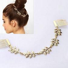 Flower Comb Tassel Clip headband head Pin piece chain hair band Bride Bridal (34