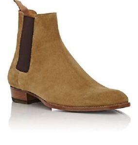 Hellbraun Leder Herren Brown Chelsea Stiefel | eBay
