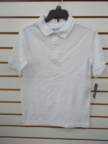 Uniform Shirts Size 6-18//20 Boys Nautica $24 Assorted Color Polo