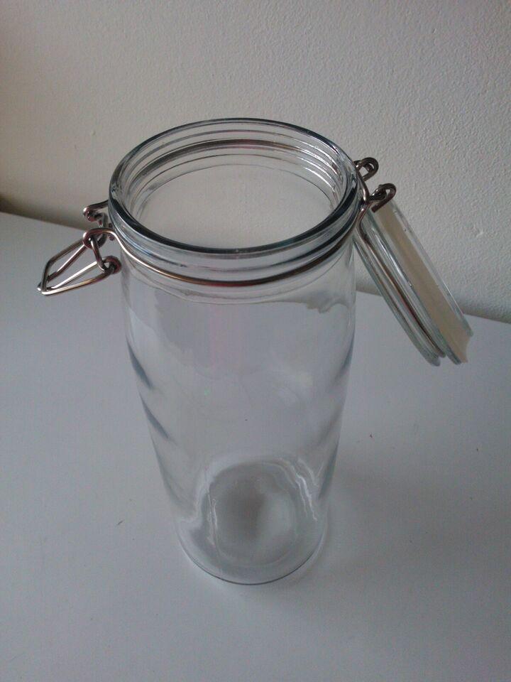 Glas, Spaghettiglas & måler. KR. 50.-
