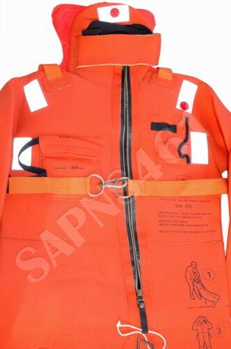 UNITOR ARO V40-205  215cm *SOLAS Jumbo Immersion Suit* 05 AQUATA