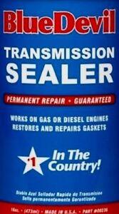 Details about Transmission STOP LEAK Seal Conditioner automatic auto Tranny  SeaLer BLUE DEVIL