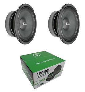 Timpano TPT-MD8 Full Range Mid Bass Loud Speaker 8 8 Ohm 4 2 Pair 1140W Peak