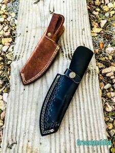 8-5-034-Handmade-Real-Leather-Sheath-Hunting-Blade-Knife-Double-Stitched-Engraved