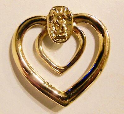 93596859513 Details about Clip Scarf Yves Saint Laurent Ysl Jewellery, Yves Saint  Laurent Ysl - Jewelry