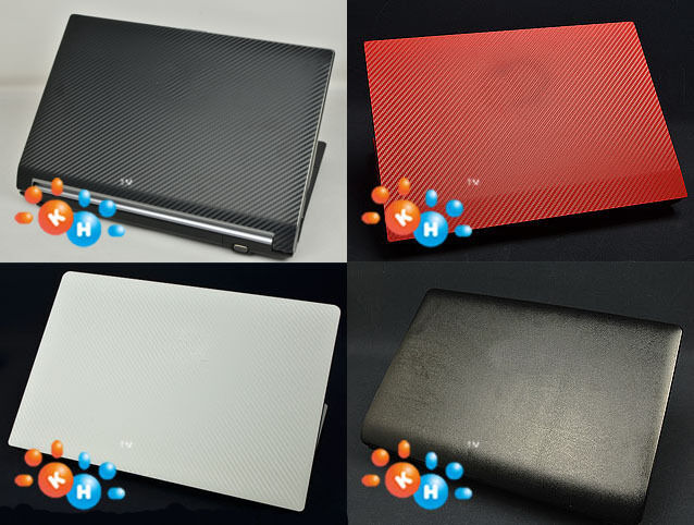 KH Laptop Carbon Leather Sticker Skin Cover for Dell Inspiron 13-7000 7368  7378