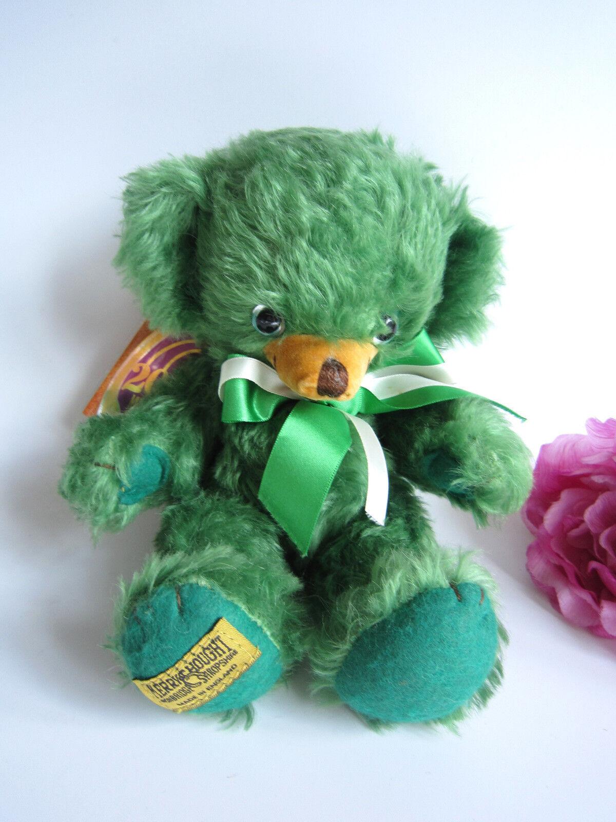 Merrythought verde Bean Cheeky Orso 10 . Ltd. STUPENDO. perfetto.
