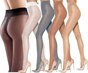 New High Italian Quality Classic 15 Denier Tights//Pantyhose  S Natural Colour