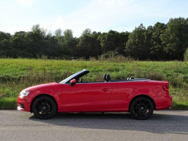 Audi A3 1,4 TFSi 125 Ambiente Cabrio S-tr. - billede 2
